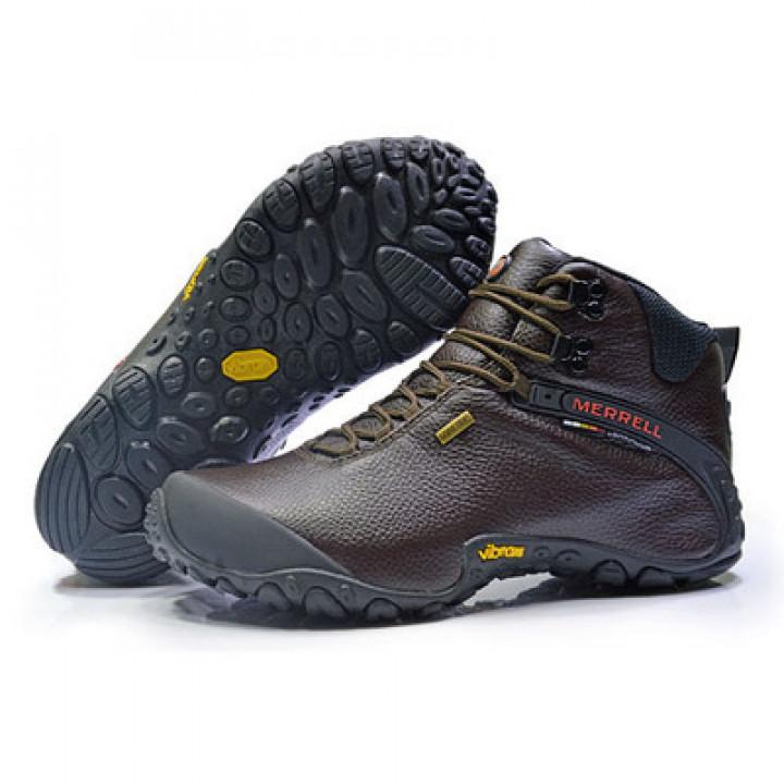 Зимние Ботинки Мerrell GoreTex коричневые